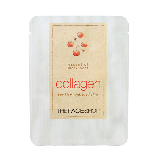 essential collagen mask sheet