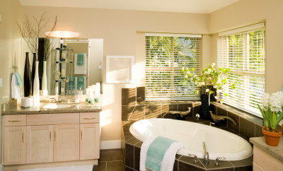 luxury modern bathroom home