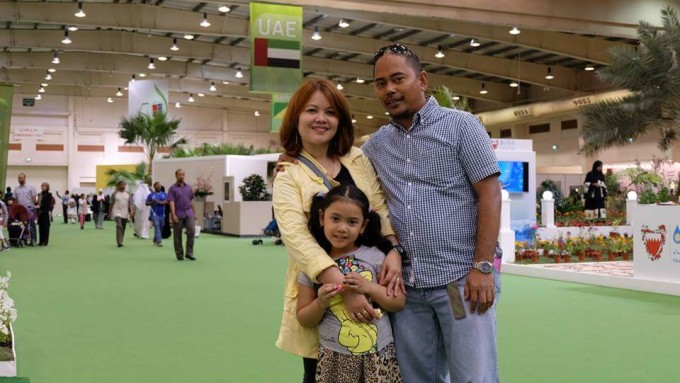 Jennifer dan keluarga