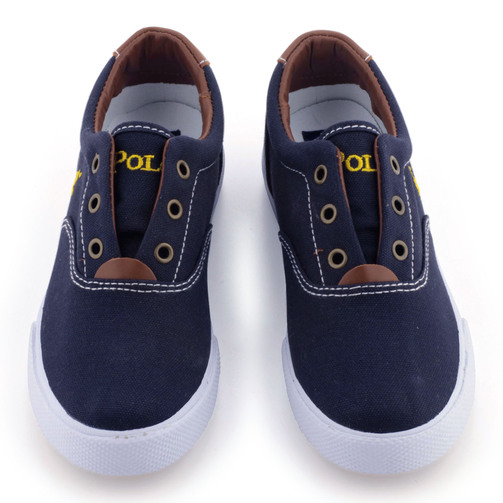 ralph-lauren-shoes-navy blue canvas