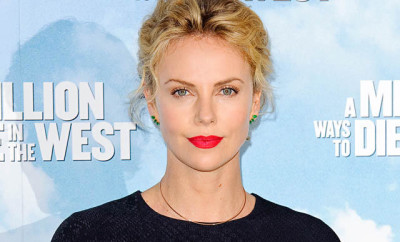 "Image #: 29687218    Charlize Theron at the ""A Million Ways To Die In The West"" Photocall held at Claridges in London on May 27, 2014.   Alpha /Landov"