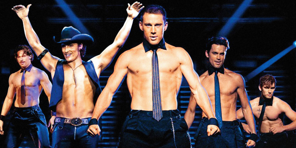 Aksi Channing Tatum dalam Magic Mike XXL