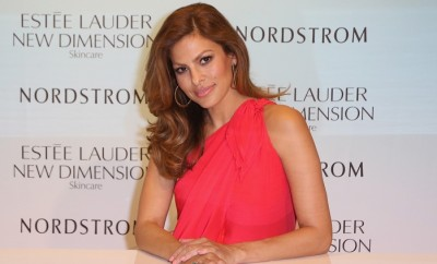 AVENTURA, FL - JULY 25:  Eva Mendes launches Estee Lauder New Dimension Skincare at Nordstrom Aventura on July 25, 2015 in Aventura, Florida.  (Photo by John Parra/Getty Images for Estee Lauder)