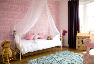 pink-kids-wallpaper-design-ideas-for-girl-kids-room