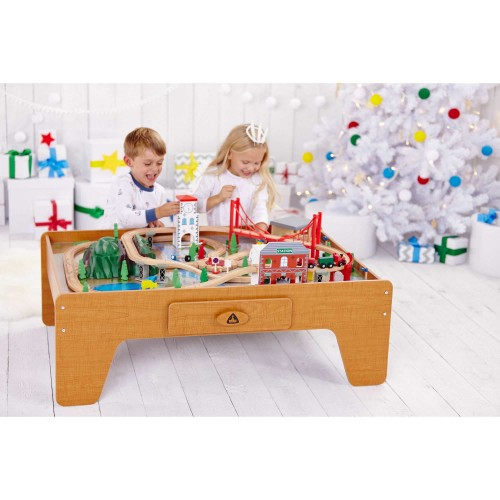 #8 Wooden Train Table