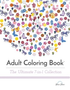 Adult Coloring Books, The Ultimate 7-In-1 Collection