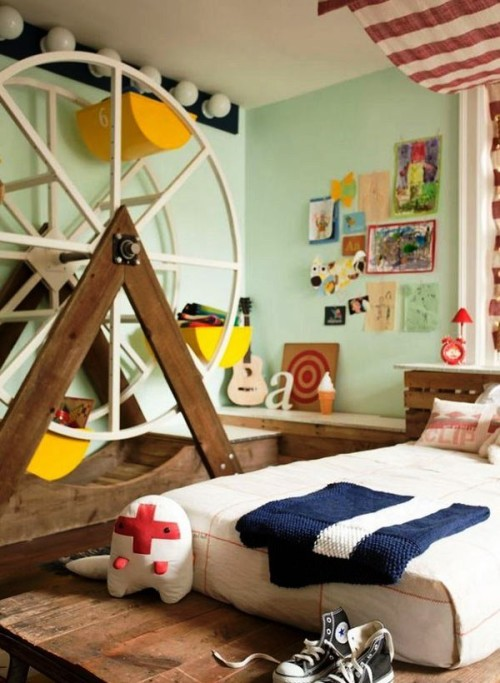 1-Desain Kamar Tidur Unik untuk Anak Laki-laki