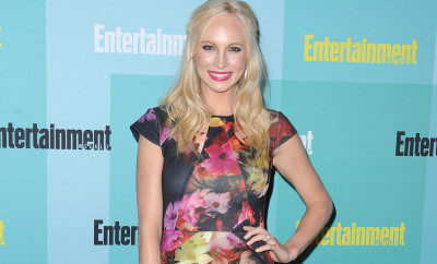 11 Jul 2015, San Diego, California, USA --- Arrivals at the 2015 Entertainment Weekly Comic-Con Party at Float at Hard Rock Hotel in San Diego, California, USA. Pictured: Candice Accola --- Image by © PG/Splash News/Corbis
