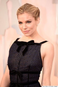 HOLLYWOOD, CA - FEBRUARY 22:  Actress Sienna Miller attends the 87th Annual Academy Awards at Hollywood & Highland Center on February 22, 2015 in Hollywood, California.  (Photo by Kevin Mazur/WireImage)