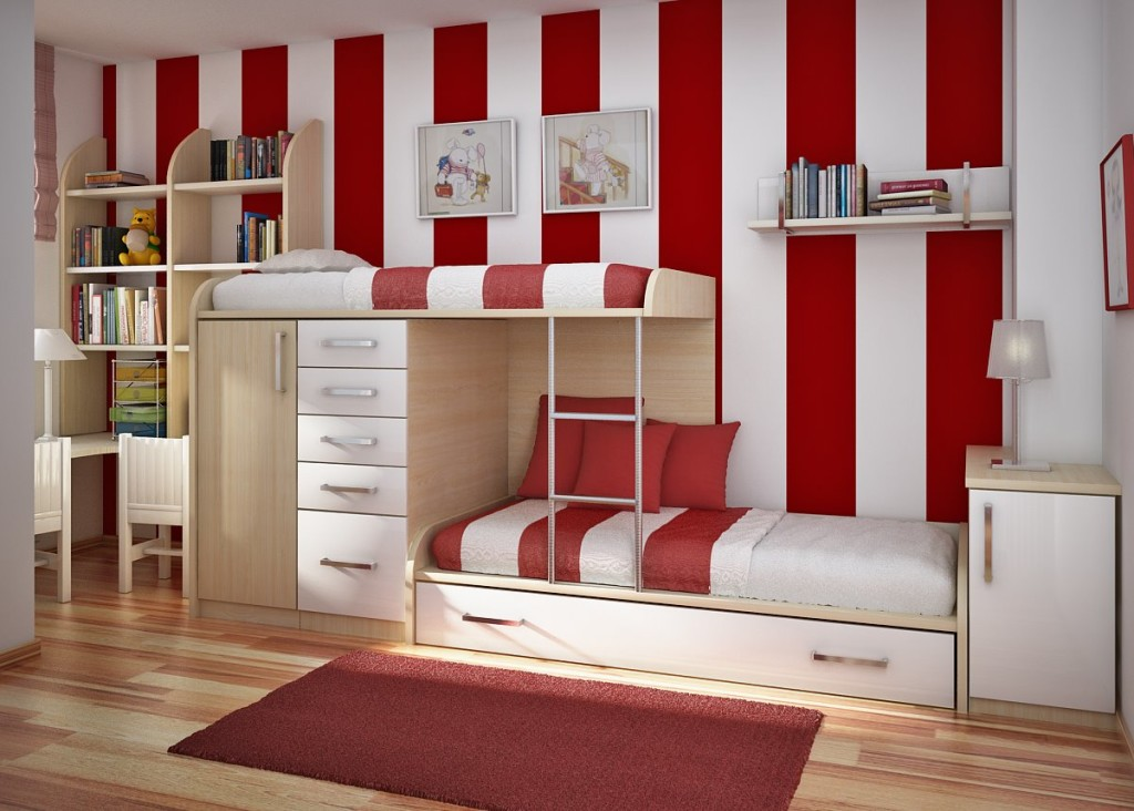 bunk bed-storage