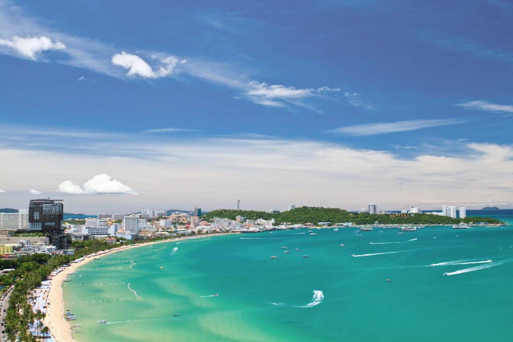 Wonderful Beach of Pattaya