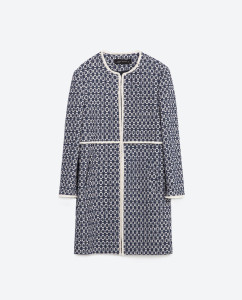 Zara Printed Coat