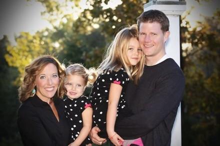 Michelle Buelow dan keluarga