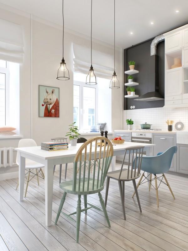 Desain-ruang-makan-Skandinavian