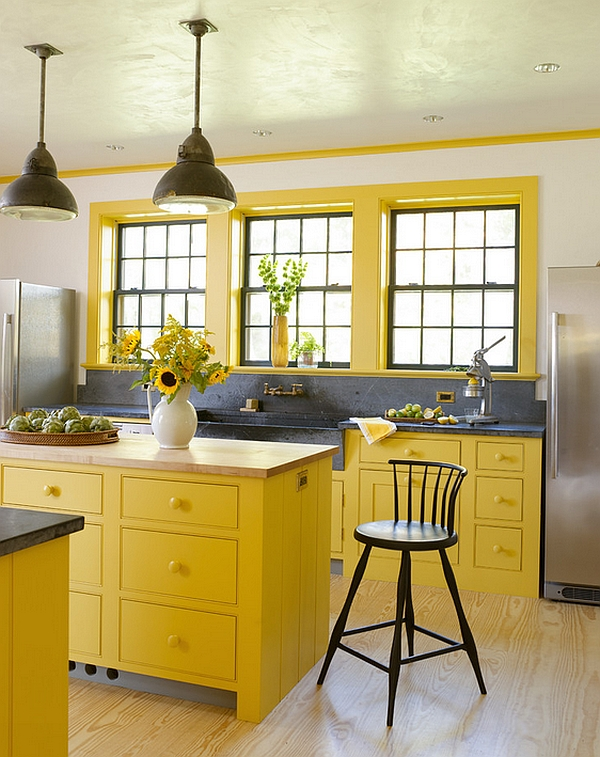 kabinet-dapur-kuning-cerah