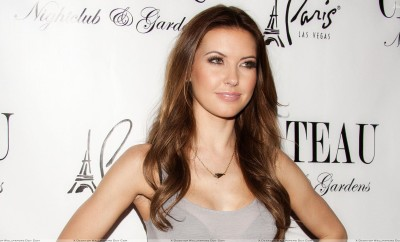 Audrina Patridge Smiling At Chateau Nightclub & Gardens in Las Vegas