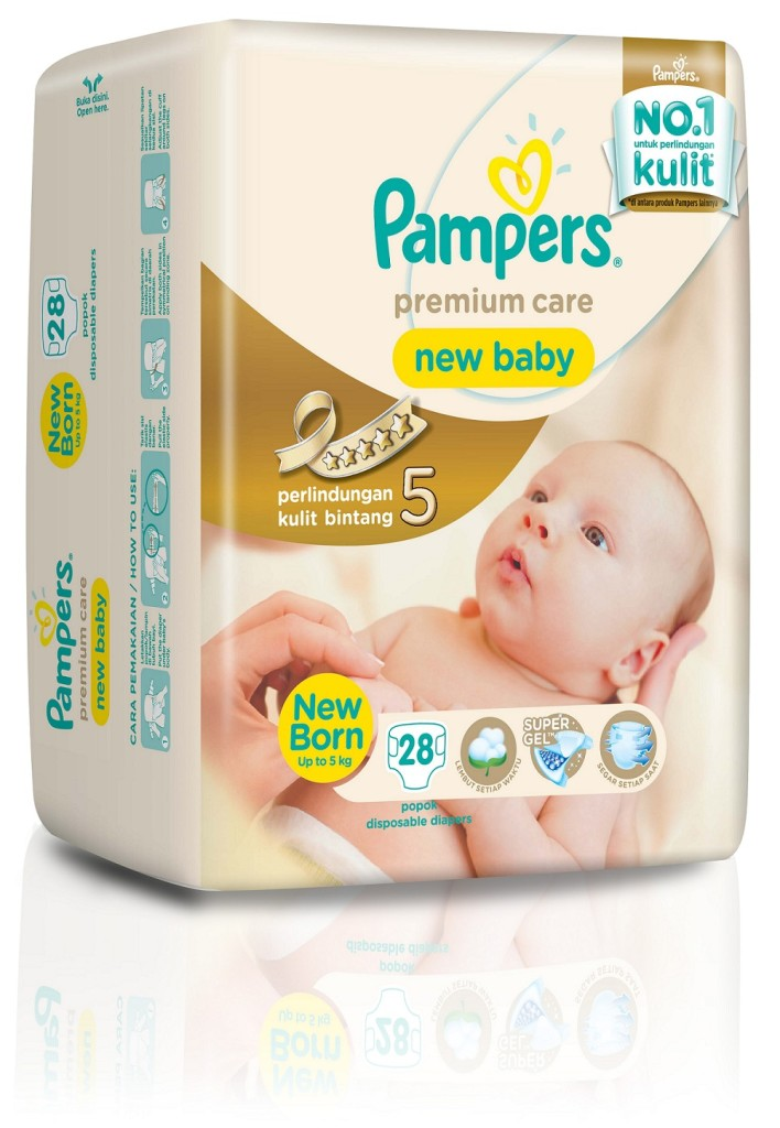 PAMPERS PREMIUM CARE NB