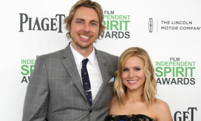 2014 Film Independent Spirit Awards Arrivals celebrating independent films and their filmmakers  Featuring: Dax Shepard,Kristen Bell Where: Santa Monica, California, United States When: 01 Mar 2014 Credit: Nikki Nelson/WENN.com