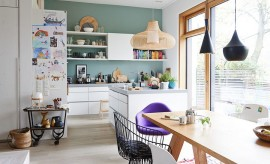 Lighting-fixtures-enhance-the-style-and-appeal-of-this-kitchen