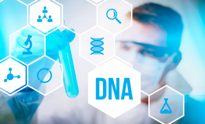 DNA research forensic science