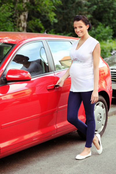 Driving with pregnancy