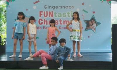 Kreatifitas Anak-anak dalam Gingersnaps FUNtastic Christmas Kids Party&Competition