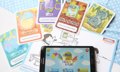 Aplikasi HiLo School Draw & Play