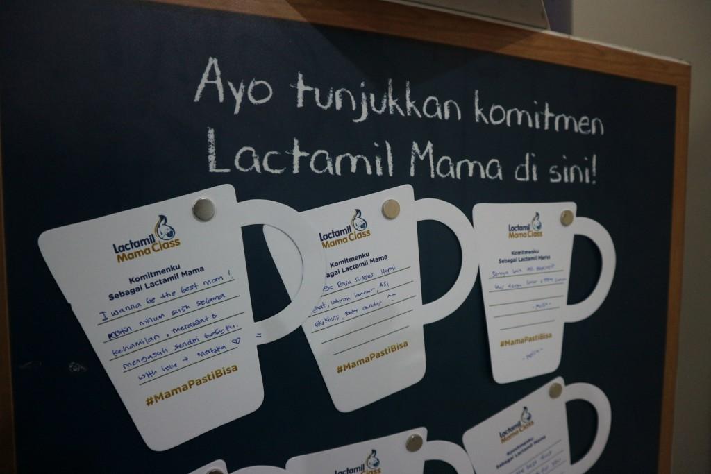 Lactamil Mama Tunjukkan Komitmen Mama untuk memberikan yang terbaik bagi Si Kecil