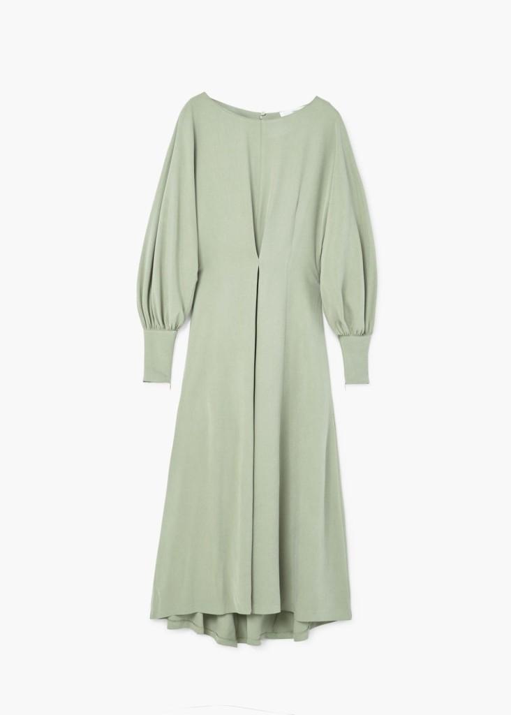 Flowy modal dress, MANGO.