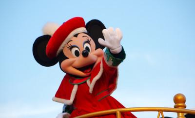 """""""Minnie Mouse"""" in Tokyo-Disneyland, Japan"""