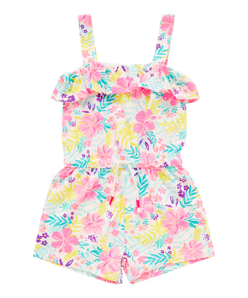 Tropical Floral Playsuit Mothercare