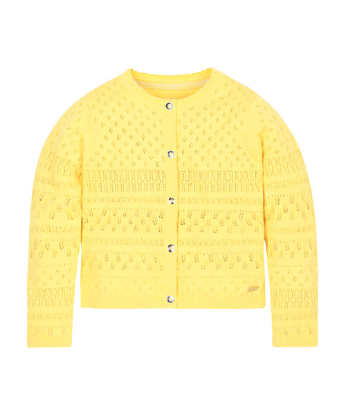 Yellow Pointelle Cardigan Mothercare