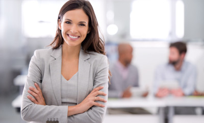 Shot of a young businesswoman standing in an officehttp://195.154.178.81/DATA/istock_collage/0/shoots/783151.jpg