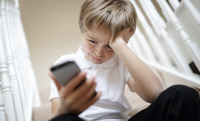 Cyber bullying by mobile cell phone text message
