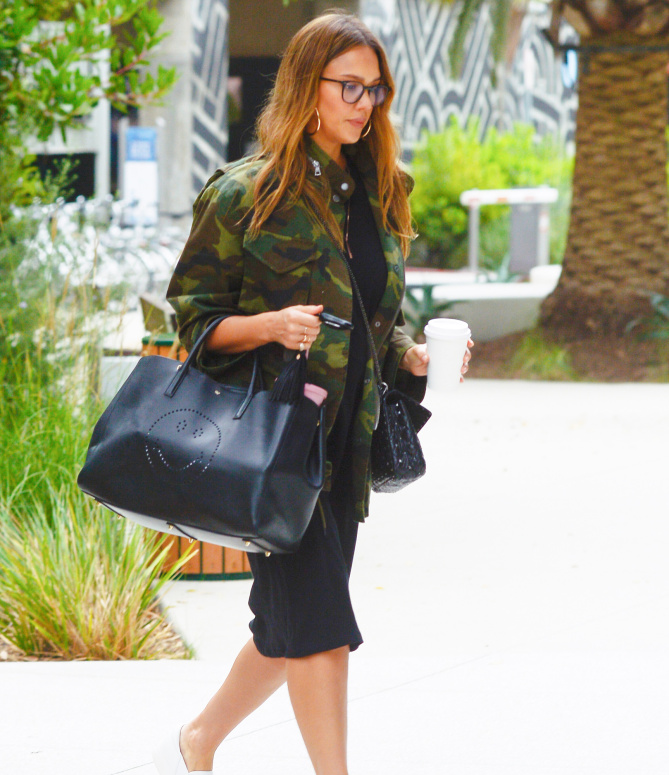 Jessica Alba is Spotted Out and About in Los Angeles