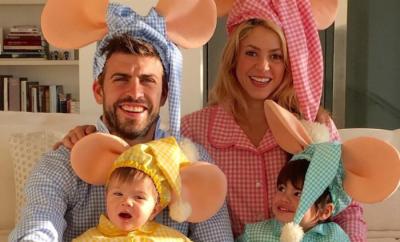 Shakira and Her Family as Topo Gigio2