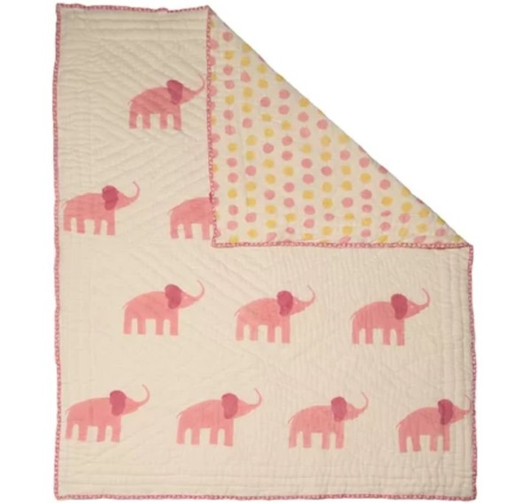 Moonlight Elephant Quilt, Wayfair Naaya .
