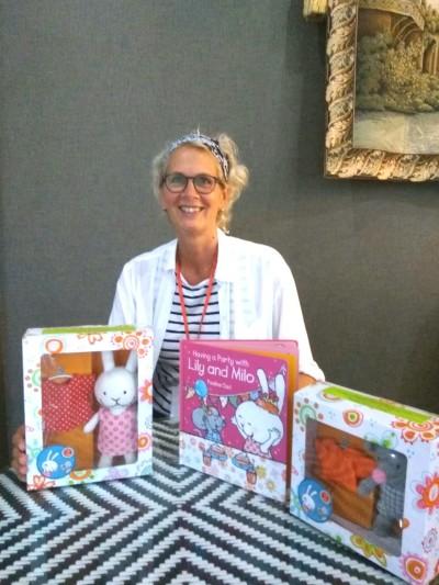 Pauline Oud & her books