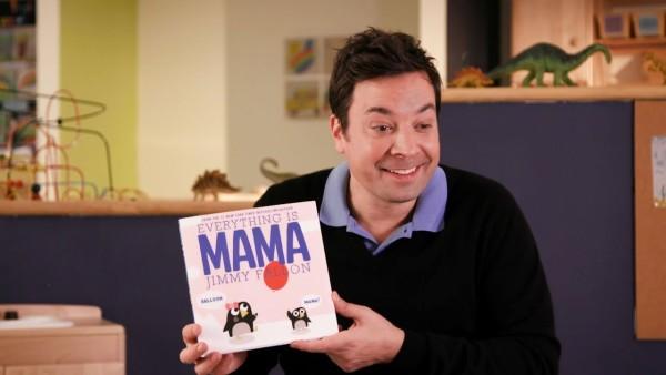 "Jimmy Fallon & buku anak terbarunya, ""Everything is Mama"""