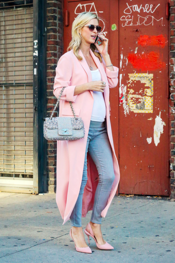 EXCLUSIVE: Nicky Hilton Shows Her Baby Bump While Out on a Stroll in New York City