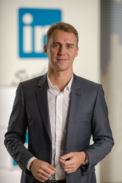 Olivier Legrand, Managing Director and Vice President LinkedIn Asia Pacific.