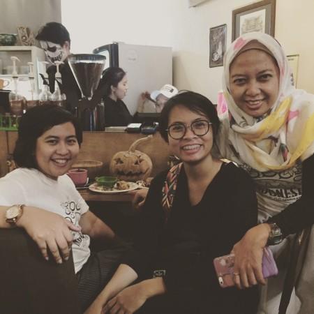 Ki- Ka: Karlina, Citra, Ajeng - Founder Indonesia Voice of Women.