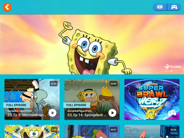 Nickelodeon Play - SpongeBob