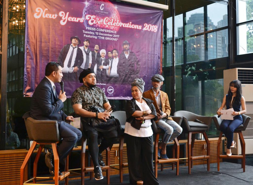 Sesi Bincang Konferensi Media -  Hotel Century Park Jakarta dan The Groove