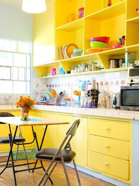 stylish-colorful-kitchen-cabinets-cabinet-paint-colors-7-colorful-choices-for-the-kitchen