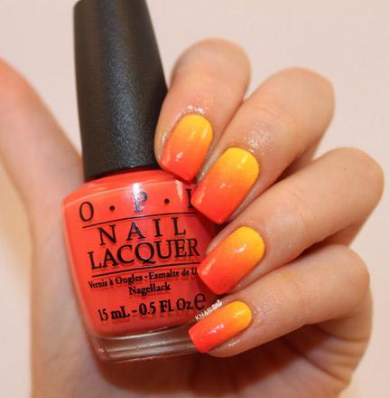 Orange-And-Yellow-Gradient-Nail-Art1