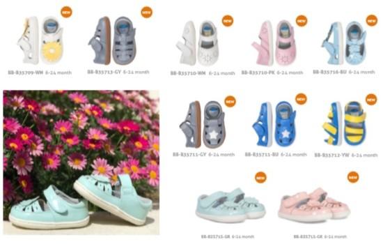 Pilihan design Baby Shoes Series