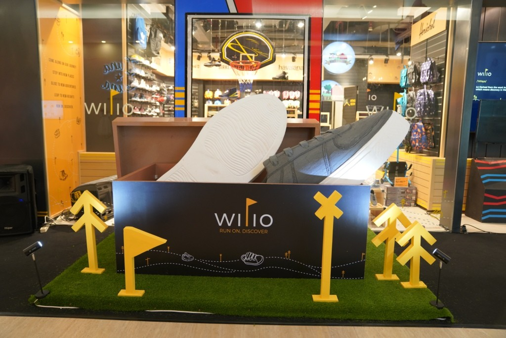 Giant Shoes Wilio di Gerai Plaza Indonesia