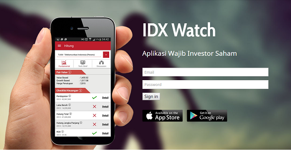 IDX-Watch-website