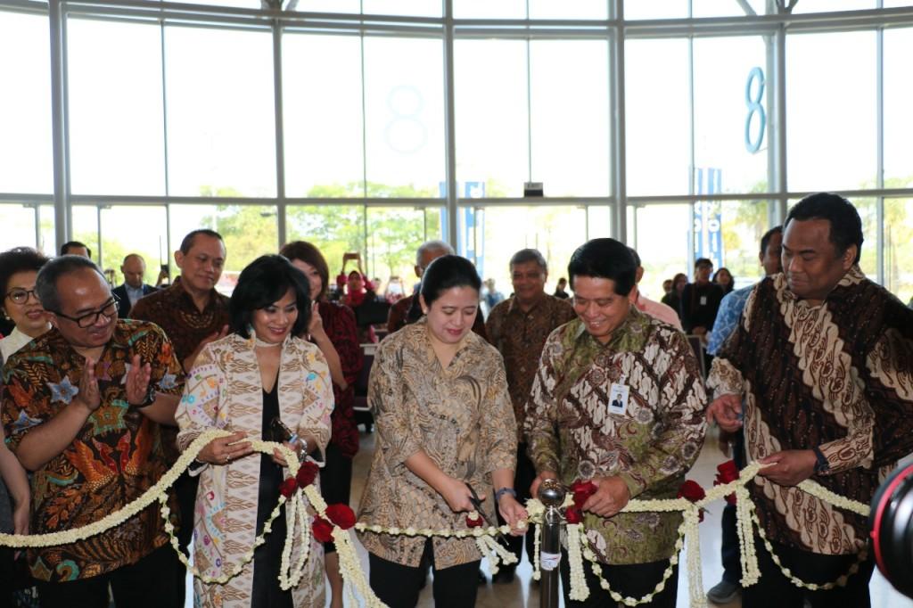 Big Bad Wolf Book Sale 2018 Resmi dibuka oleh Puan Maharani selaku Menteri Koordinator Bidang Pembangunan Manusia dan Kebudayaan Republik Indonesia.